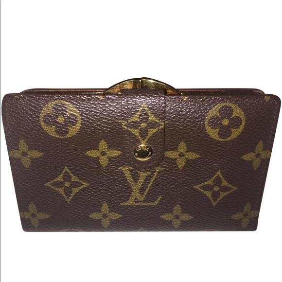 c165ab3c759d Louis Vuitton Handbags - LOUIS VUITTON French Purse Wallet Kisslock Bifold